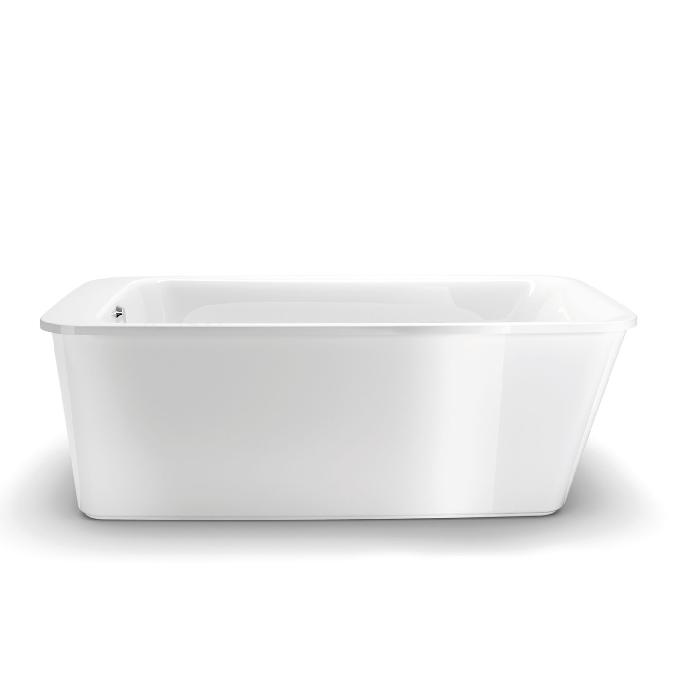 Shop Maax 105798 000 001 10 Lounge Freestanding Soaking Bathtub  Common   34 in x 60 in  Actual  22 25 in x 34 in x 64 in  at Lowe s Canada  Find o Shop Maax 105798 000 001 10 Lounge Freestanding Soaking Bathtub  . Free Standing Tub Canada. Home Design Ideas