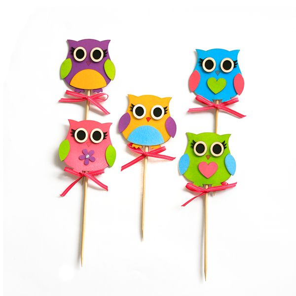 Bugz Playpark Theme owl party decor girls Kids party decor