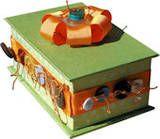 Button craft box
