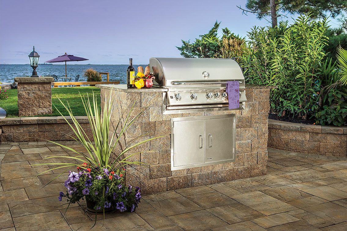 Pin de Boston Landscape Supply en Design Ideas for Outdoor Kitchens ...