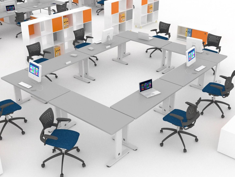 Sistemas Modulares Para Oficina L Nea Metalika Muebles Para  # Muebles Modulares Para Oficina