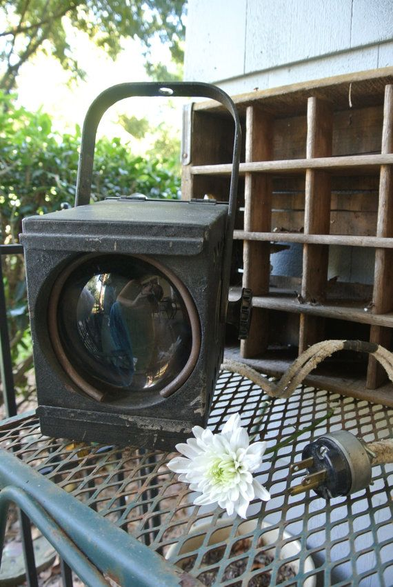 Vintage Spot Light, Great Working Condition Home Theater Decor ...