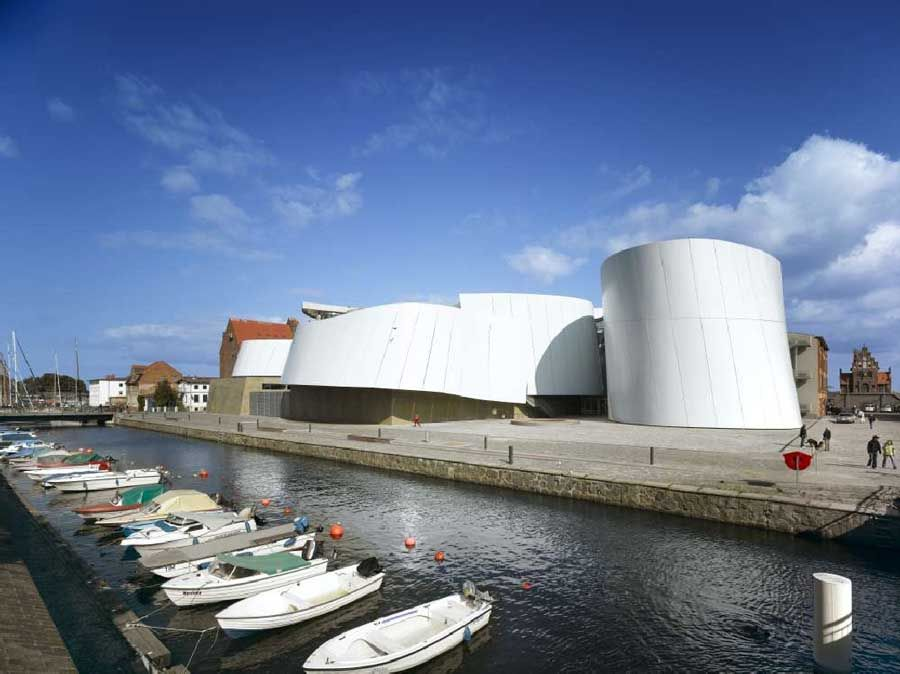 Architekten Stralsund ozeaneum stralsund germany behnisch architekten photo by