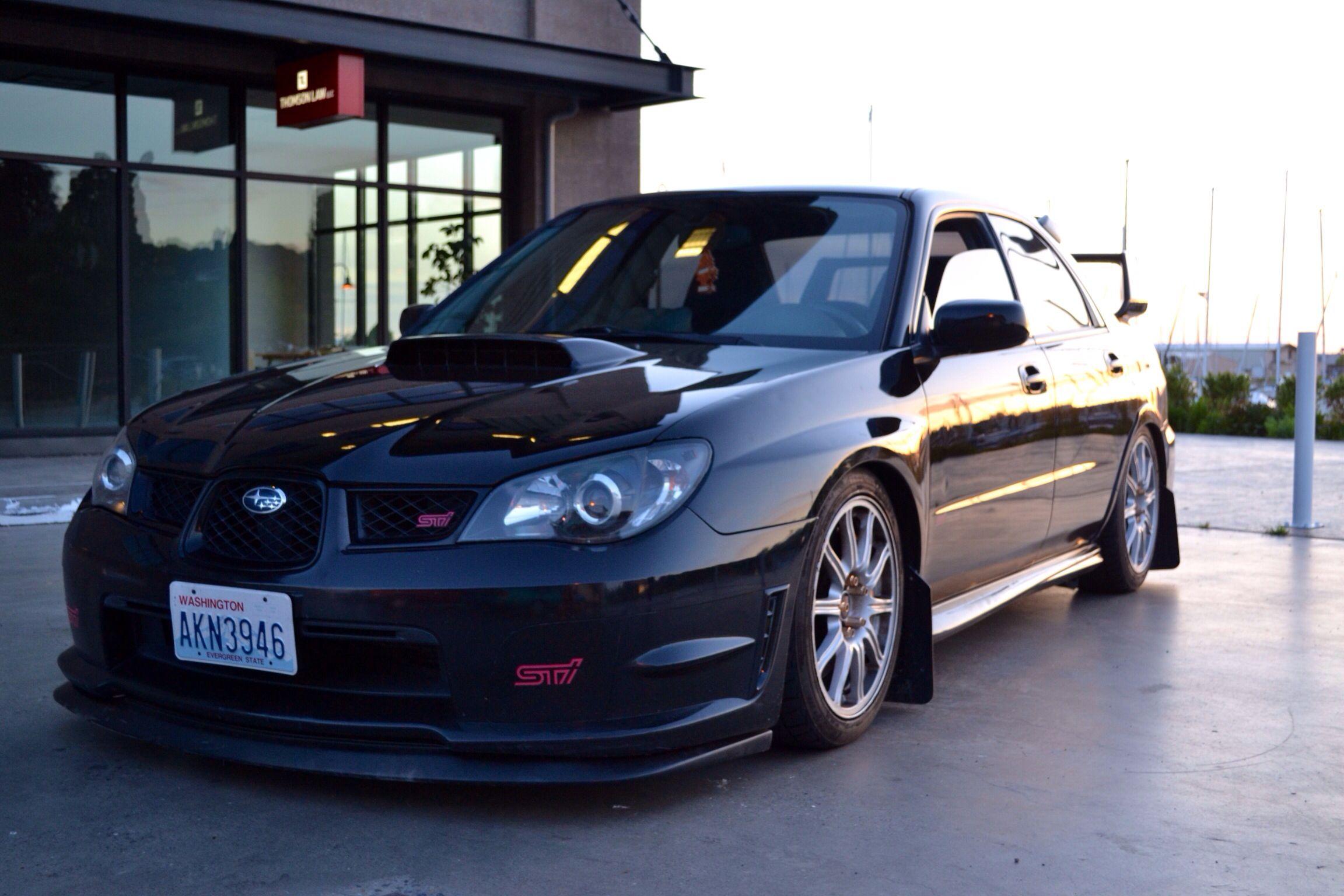 Sti black hawkeye 07 | Subaru Cars,Van,SUV,Coupe, and