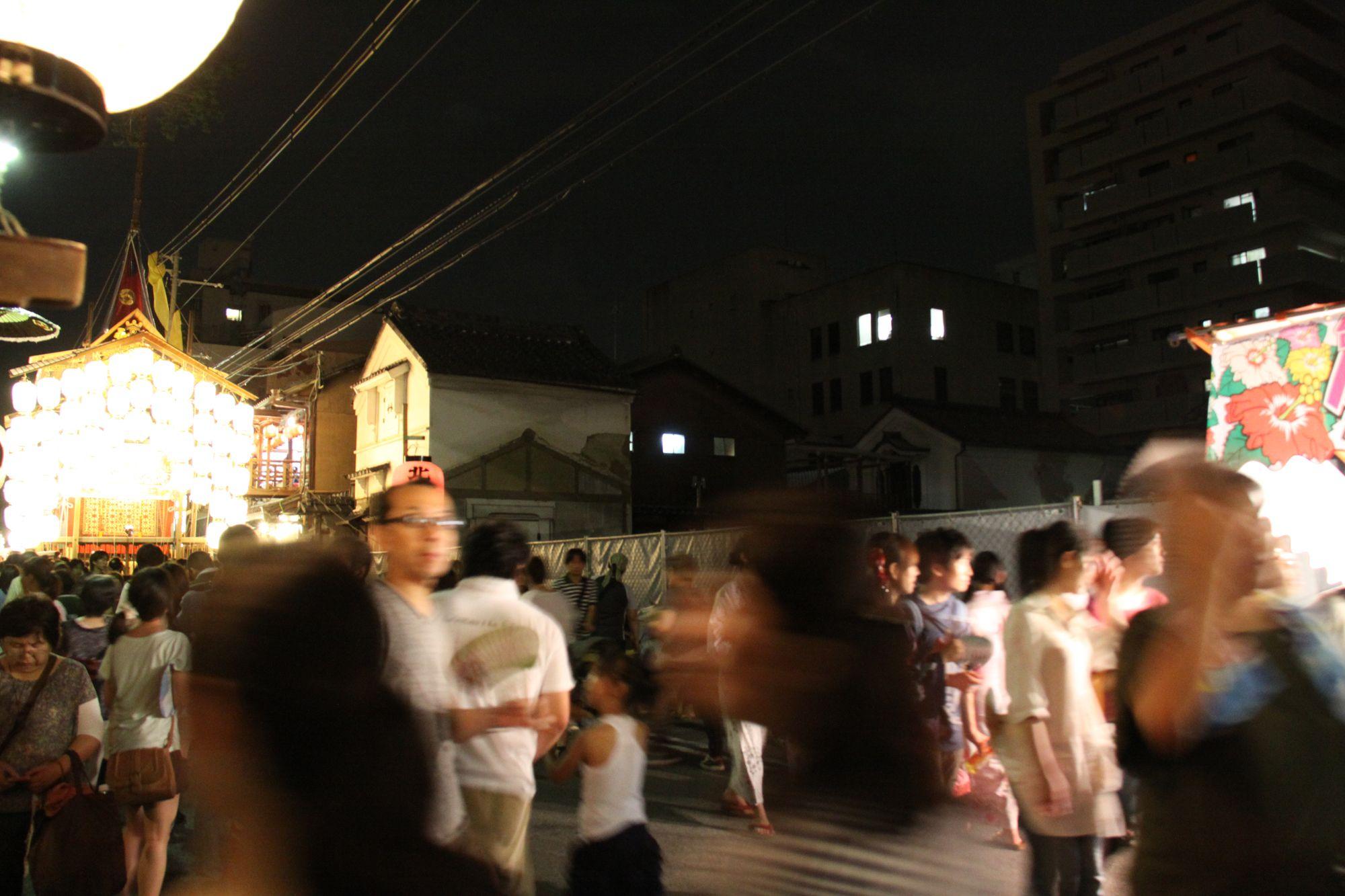 北観音山の松坂屋跡地 噂ではホテルができるとか 祇園祭 京都 Kyoto Gion Festival 松坂屋 京都 とか