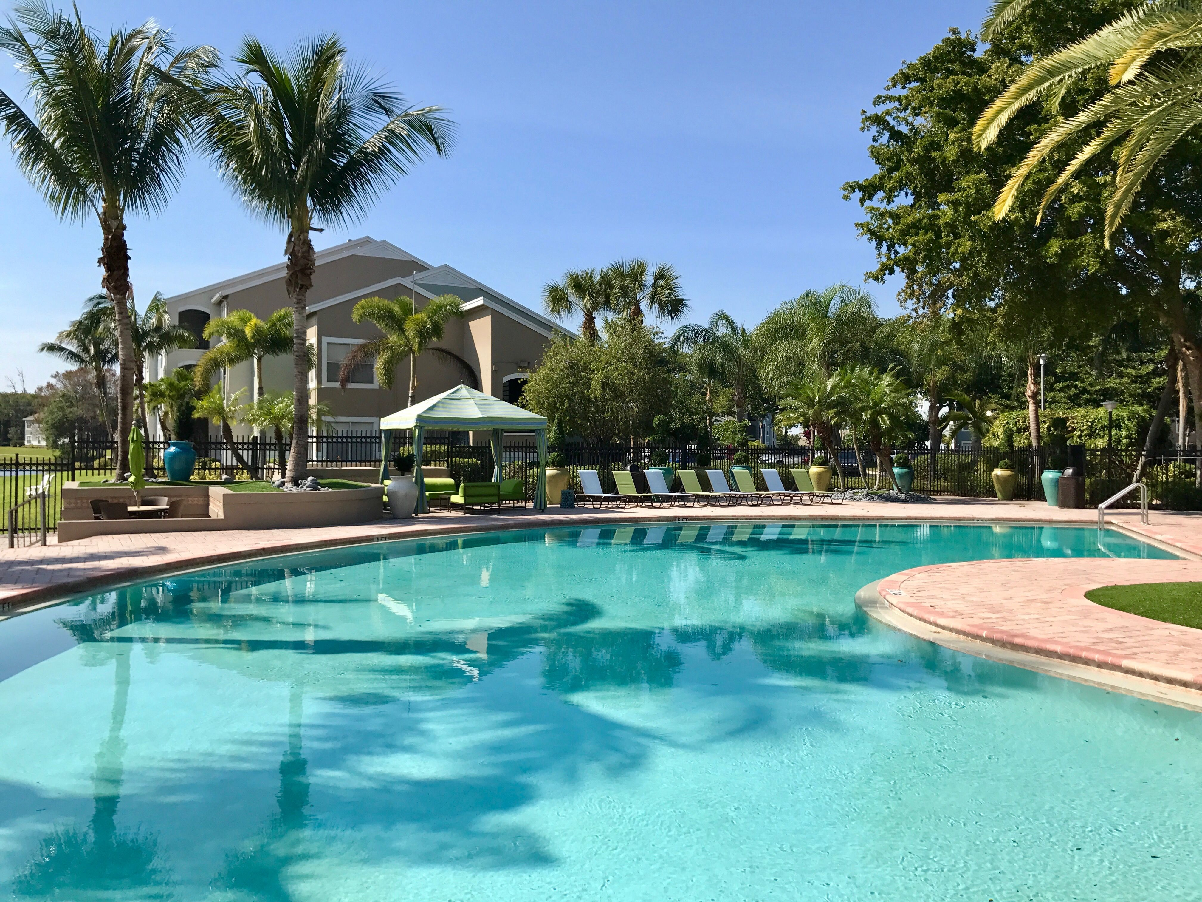 Take Our Pool Side Cabanas For Granted Go On Live A Little You Ve Earned It Courtyard House Plans House Plans Beach House Plans