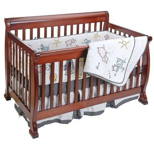 Amazon Com Global Baby 4 Piece Crib Bedding Set Farm