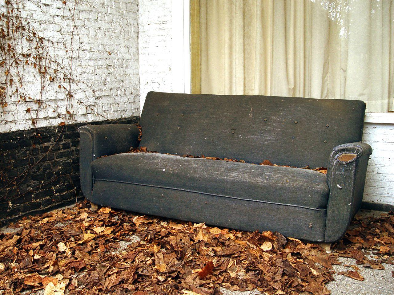Older Mum, Younger Mum, Who Cares? Sleeper sofa, Sofa