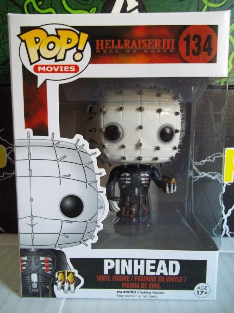 Funko Pop Movies 134 Hellraiser III Hell On Earth Pinhead