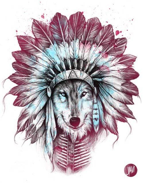 24 Wolf headdress ideas | wolf headdress, headdress, wolf