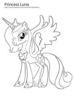 My Little Pony Coloring Pages Princess Luna Jpg 247 320 Buku Mewarnai Warna Buku