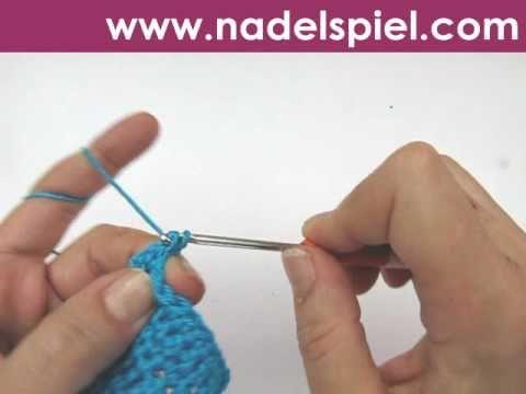 Häkeln lernen * Krebsstich * feste Maschen | Crochet | Pinterest ...