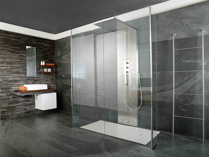 Imagine shower enclosure by sinks and for Porcelanosa carrelage mural