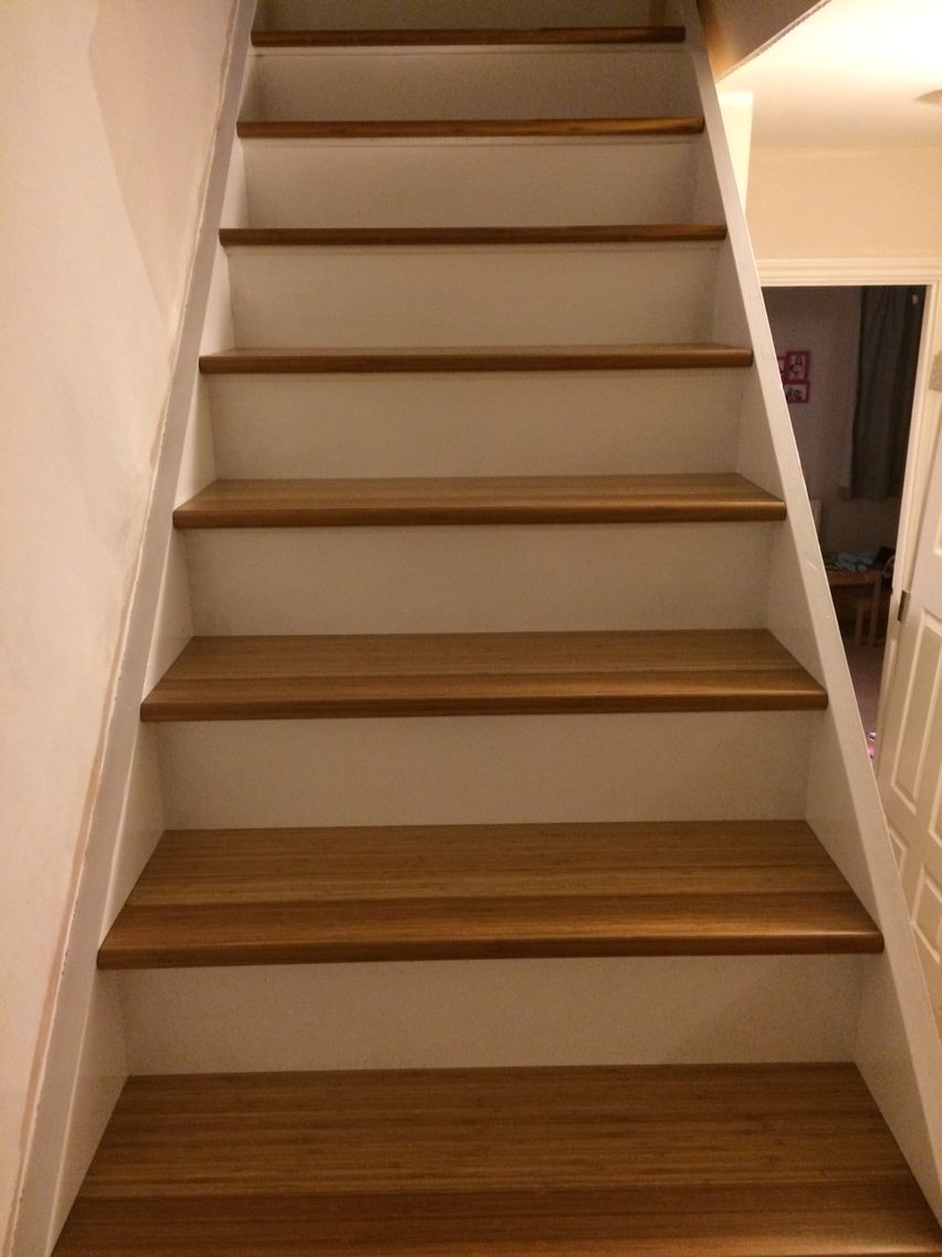 Best Bamboo Tread Staircase Our Telebeam Loft Conversion 640 x 480