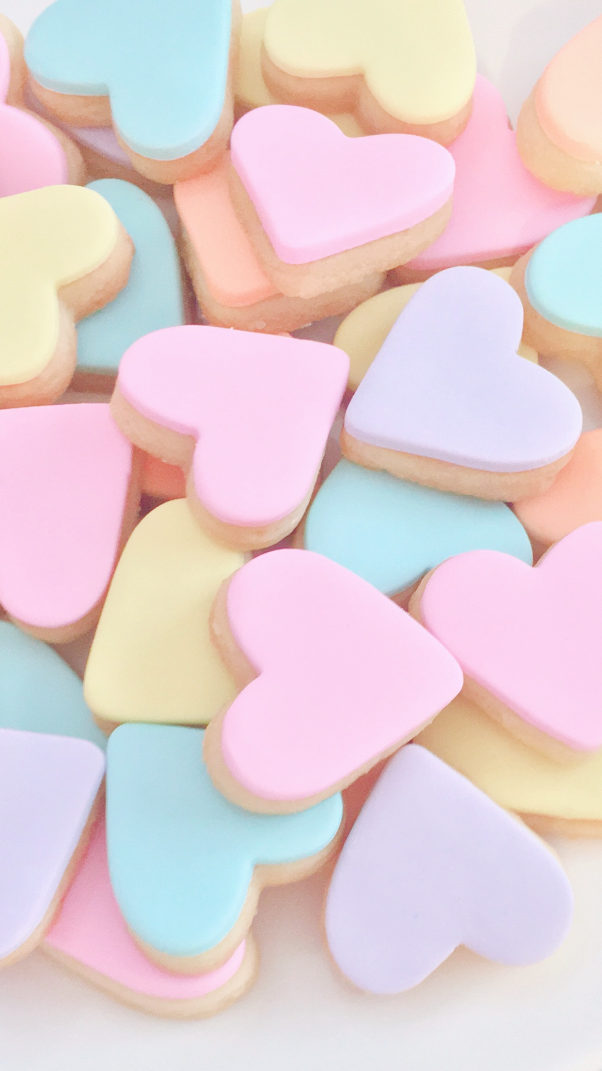 Sugar Cookies With Pastel Colors Pastel Desserts Pastel Candy Pastel Aesthetic