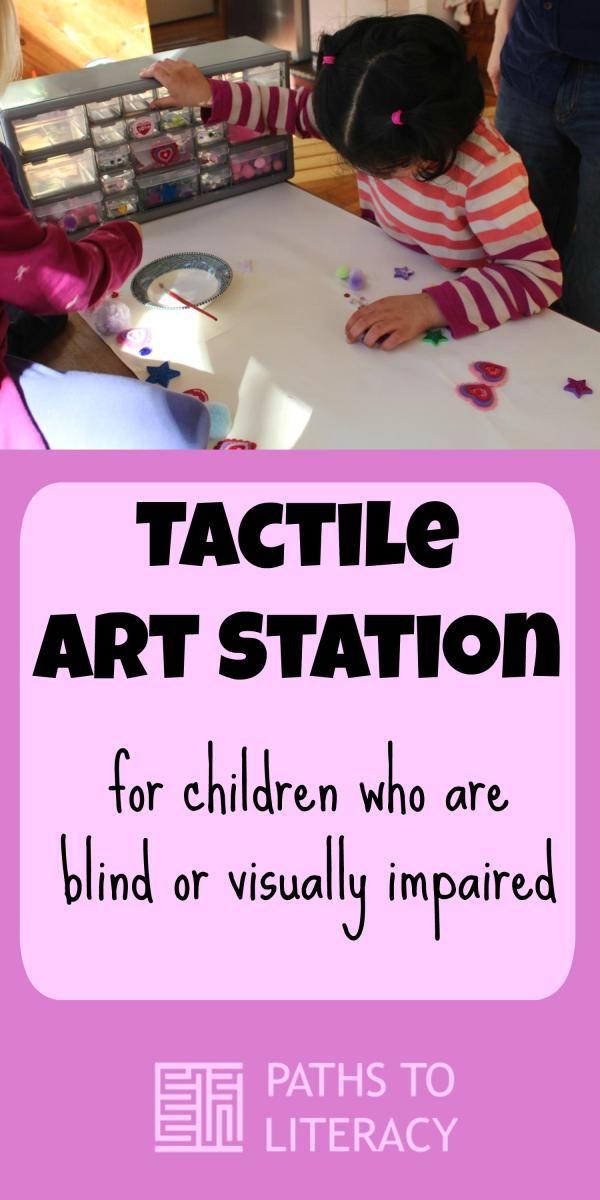 Tactile Art Station Tactile Art Tactile Activities Sensory Art