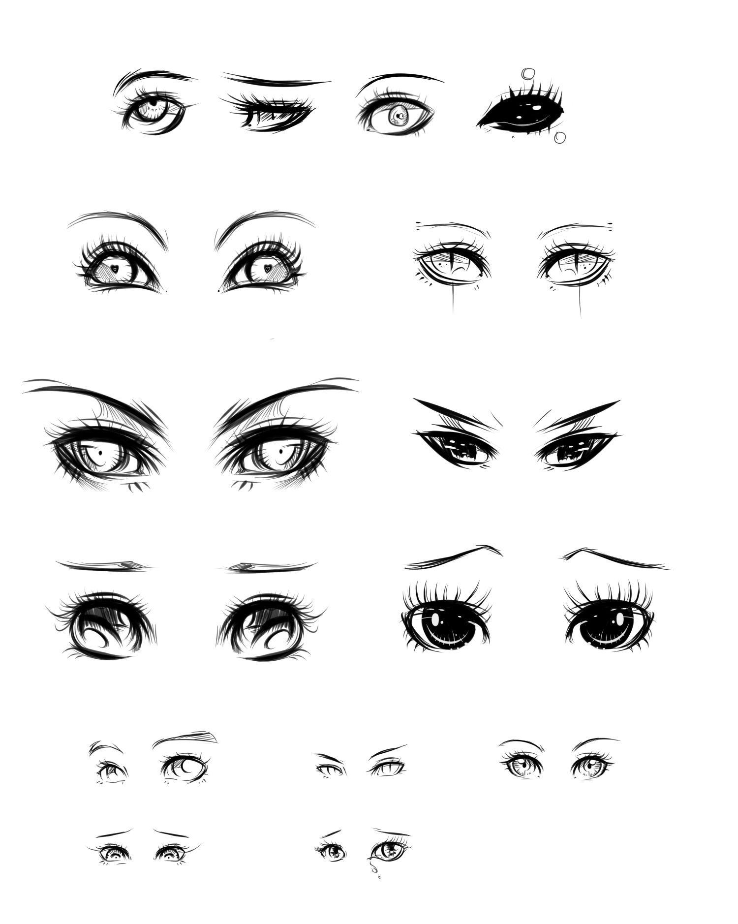 Pin by Cruz Gonzalez on art tips Anime eyes, Eye drawing
