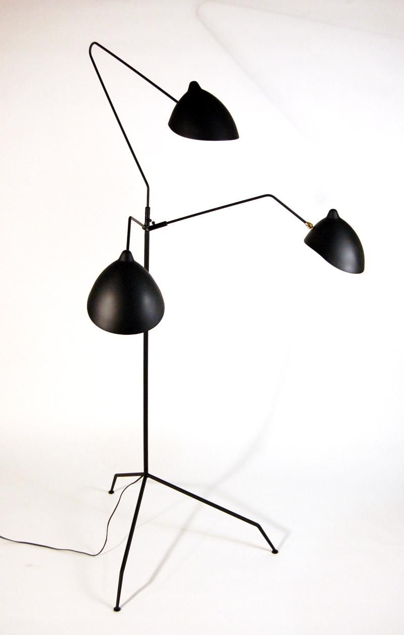 Serge mouille lamp home interiors pinterest floor lamp lamp light serge mouille lamp arubaitofo Images