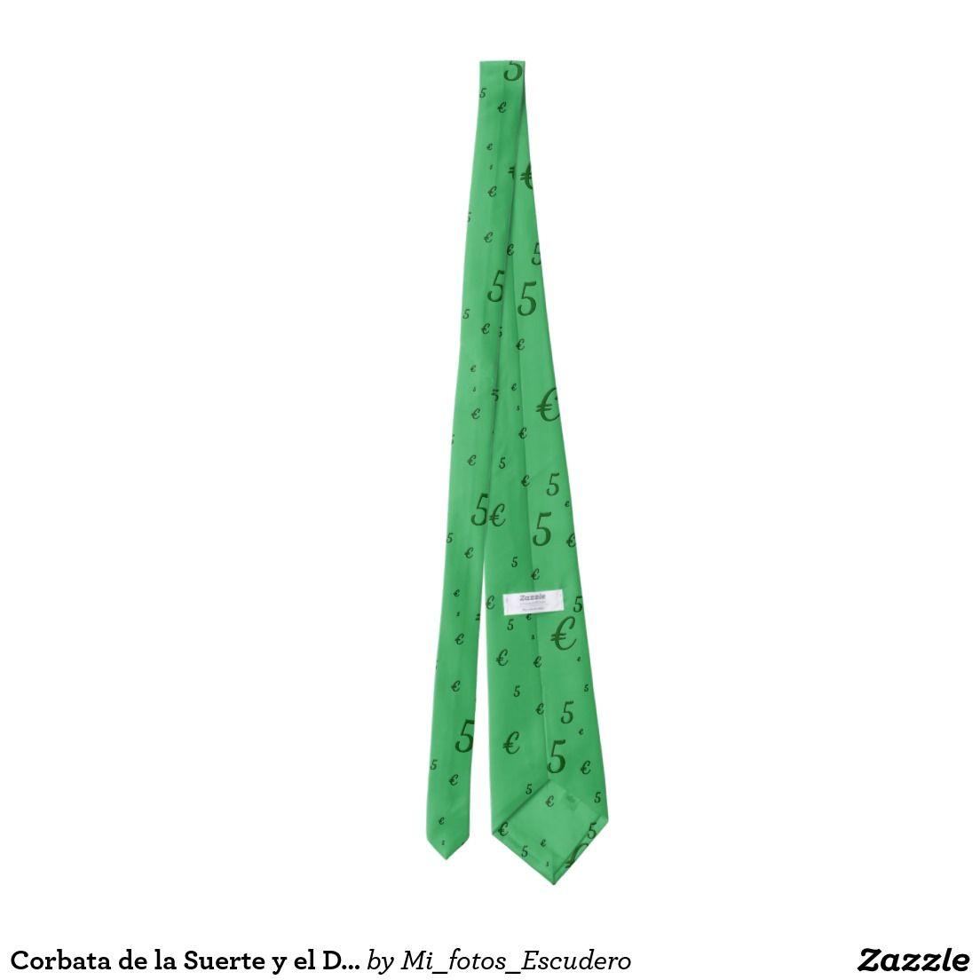 Corbata de la Suerte y el Dinero 5 euros | mis corbatas