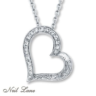 2f748b4f9 Neil Lane Designs 1/6 ct tw Diamonds Sterling Silver Necklace | Cars ...