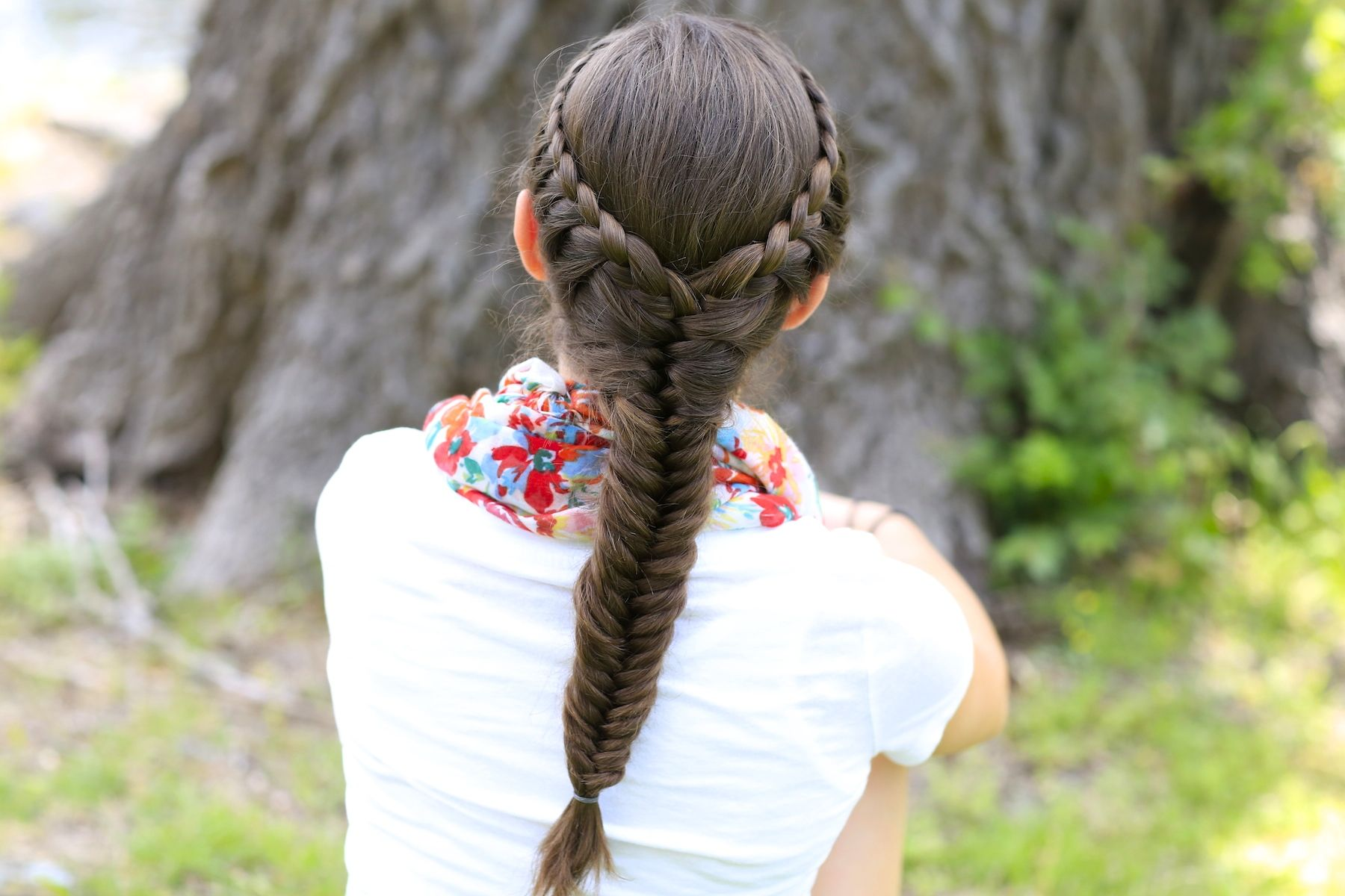 Cute girls hairstyles fishtail braid free to tag your own