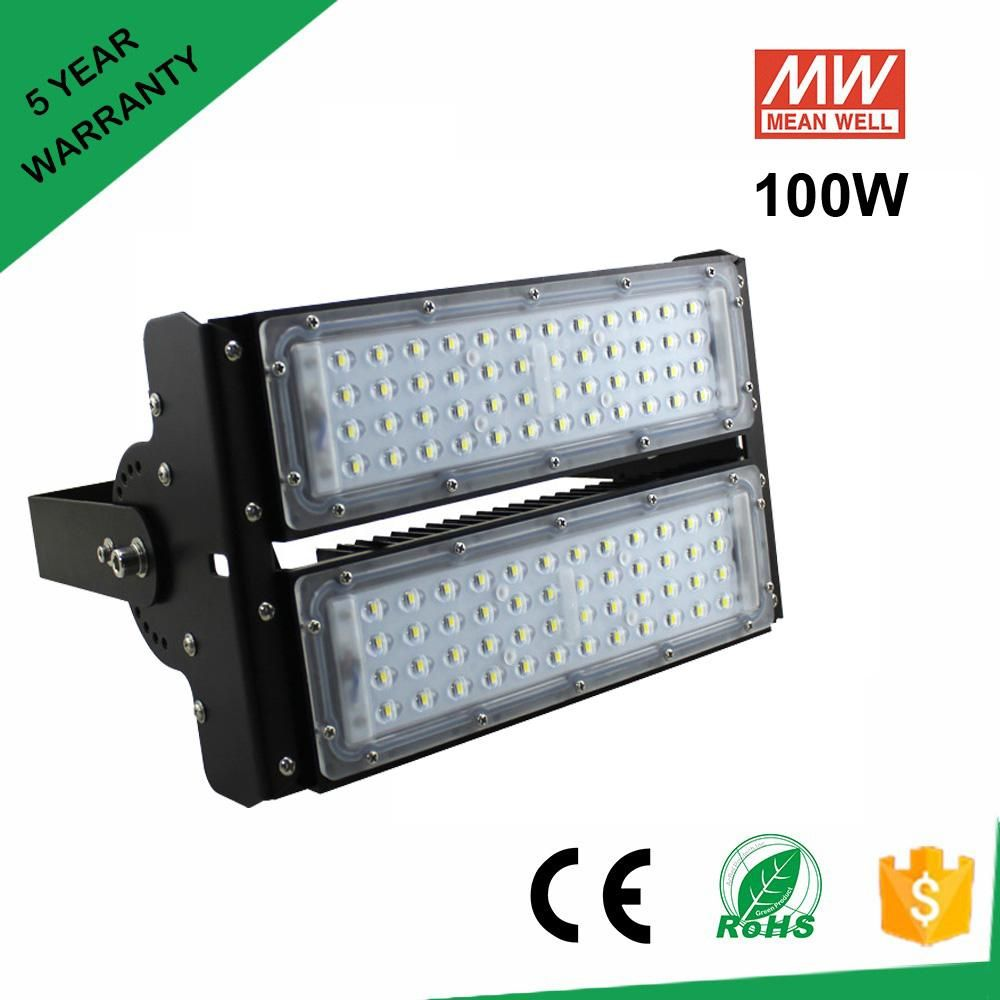 100w Led Tunnel Light 9500lm Meanwell Driver Replace 400w Hps Dhl Fedex Free Shipping 100 Watts Led Tunnel Lamp Lighting Outdoor Lighting Led Light