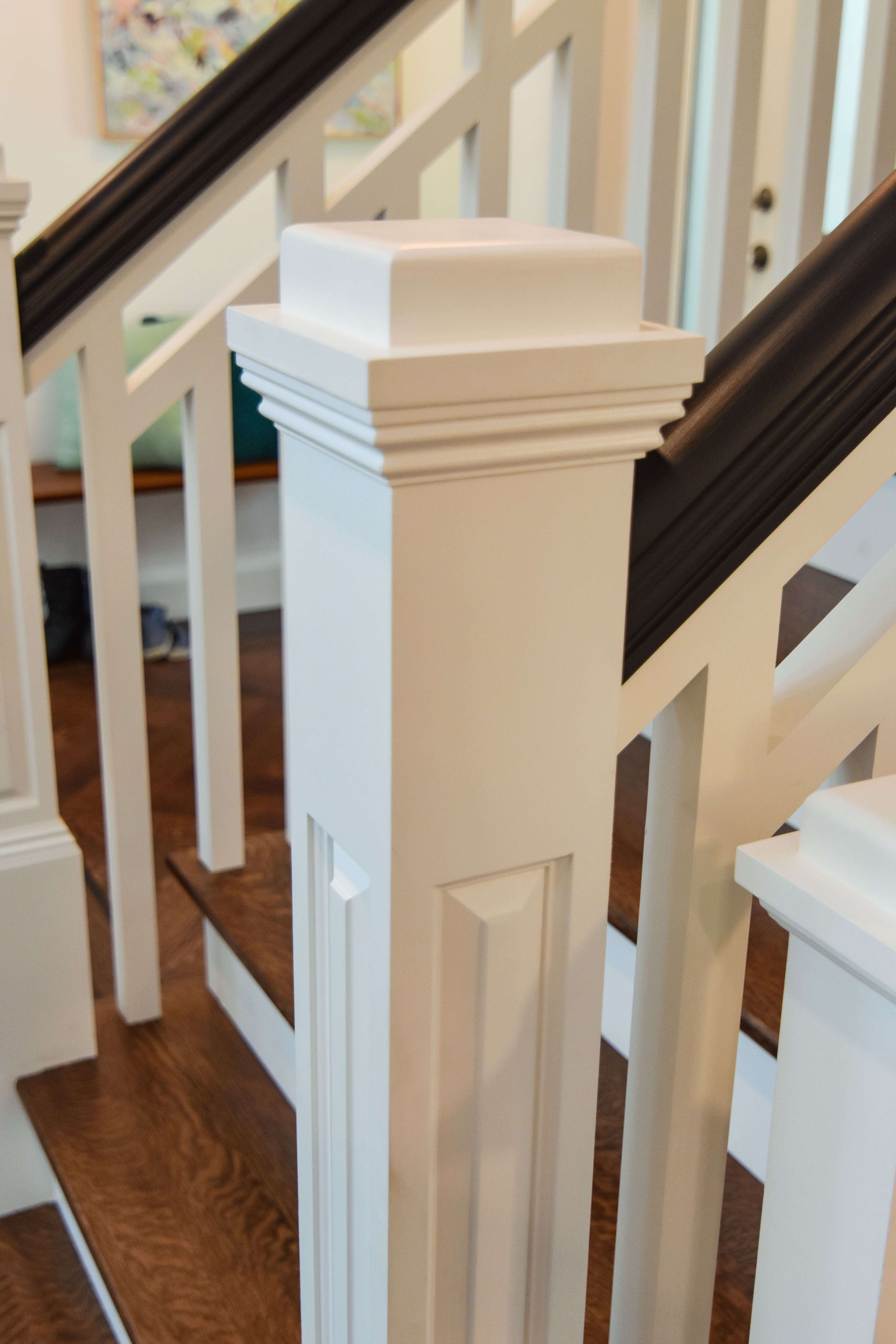 Best Baird Brothers Provided These Beautiful Stairs In The This 400 x 300