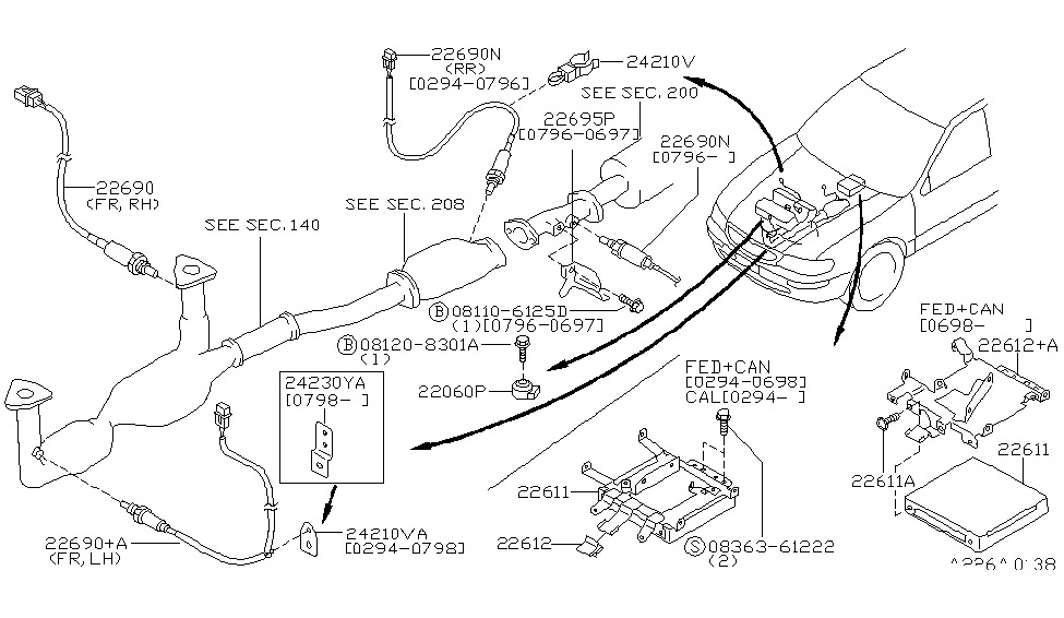 1997 Nissan Maxima Parts List And Schematics Of The Engine Nissan Maxima Nissan Engineering