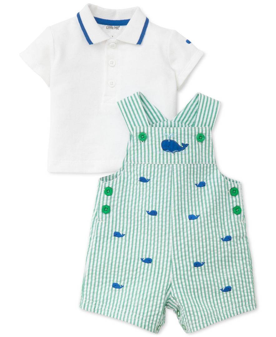 e23e21273 He ll have a whale of a good time in Little Me s play outfit that ...