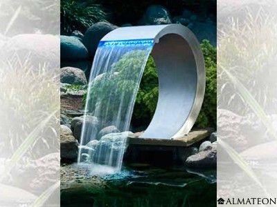 fontaine cascade avec clairage led mod le mamba led fontaines d 39 ext rieur pinterest. Black Bedroom Furniture Sets. Home Design Ideas