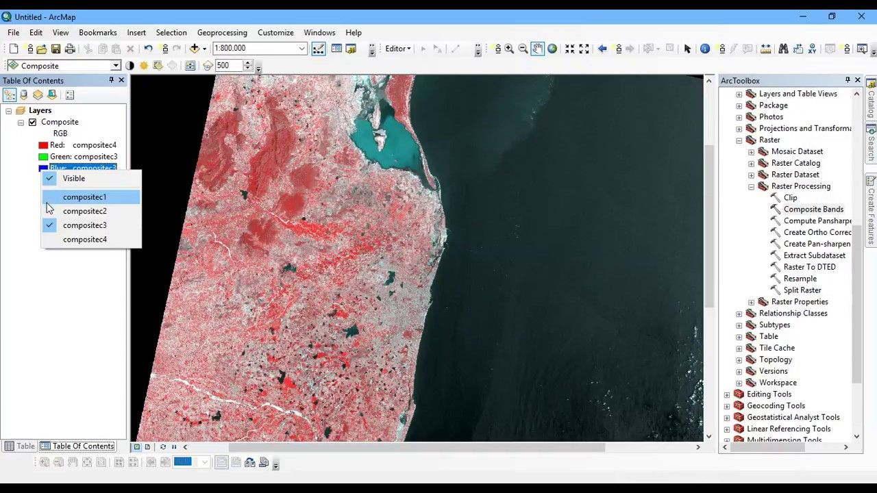 Increase Accuracy of Satellite Image Using Panchromatic Band