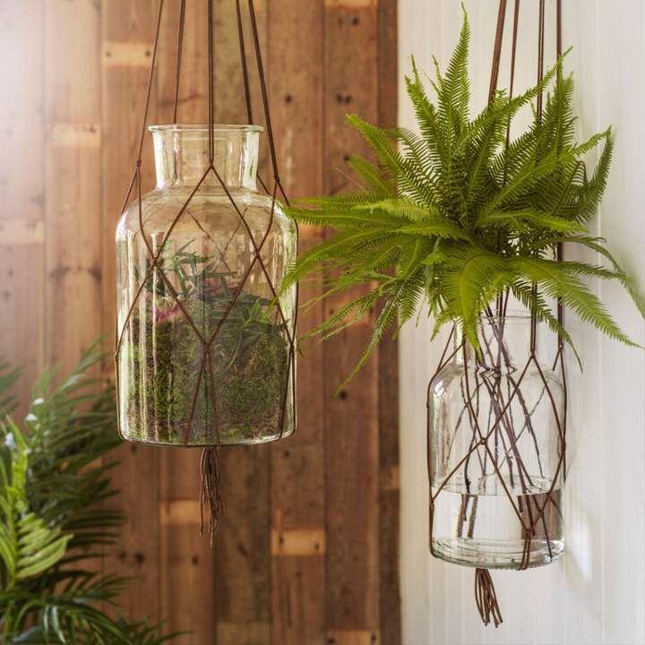 Hanging Glass Vases Mlsnclr Interior Design Pinterest Interiors