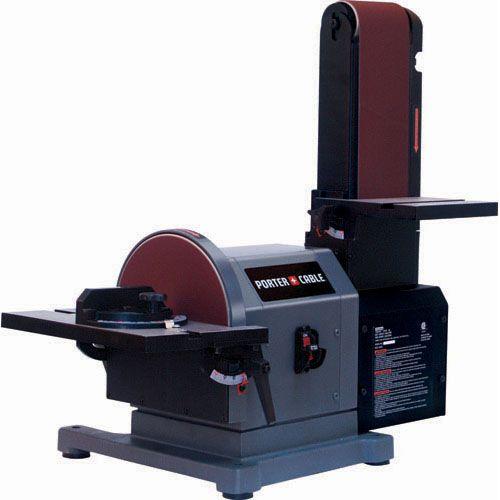 """Treadmill Belt Sander: Porter Cable Product Details For 4"""" X 8"""" Belt/Disc Bench"""