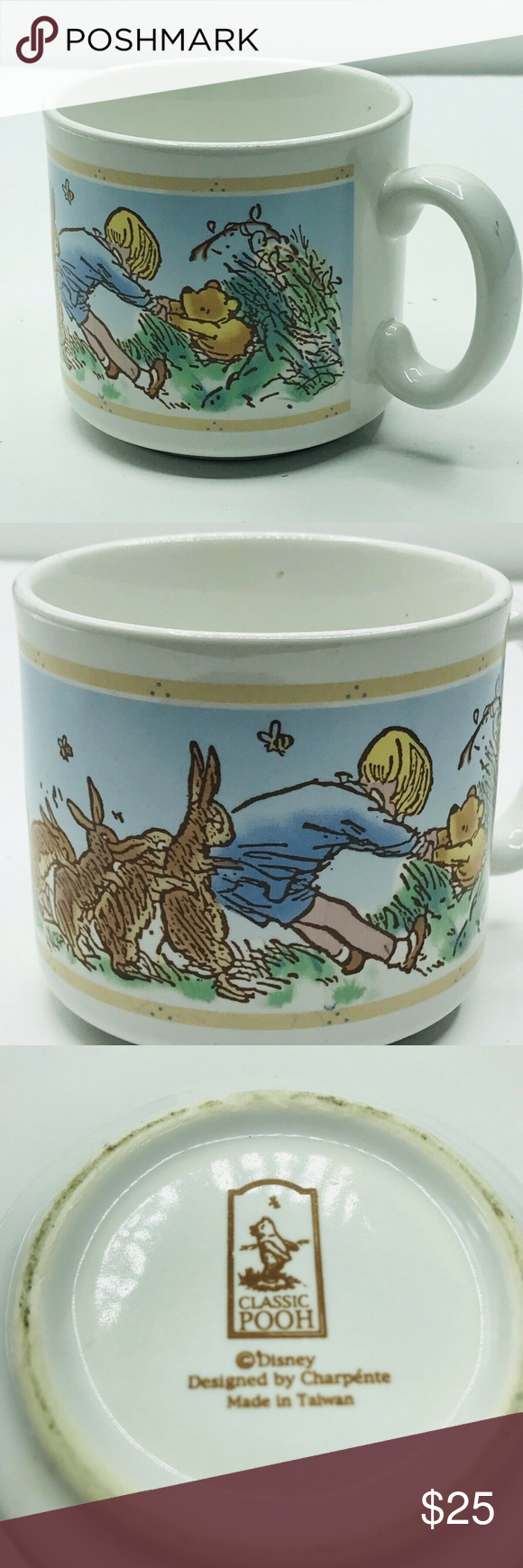Disney Classic Pooh Winnie The Pooh Coffee Mug Cup Preowned GUC Disney collectible Classic Pooh Winnie The Pooh Coffee Mug Cup Charpente Christopher Robin. Condition is Used. Disney Dining Drinkware #disneycoffeemugs Disney Classic Pooh Winnie The Pooh Coffee Mug Cup Preowned GUC Disney collectible Classic Pooh Winnie The Pooh Coffee Mug Cup Charpente Christopher Robin. Condition is Used. Disney Dining Drinkware #disneycoffeemugs