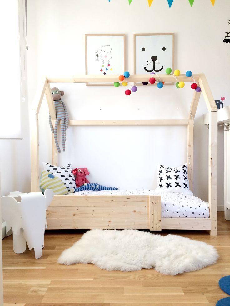 DIY Häuschenbett Kinderbettchen, Kinderzimmer und Kinder