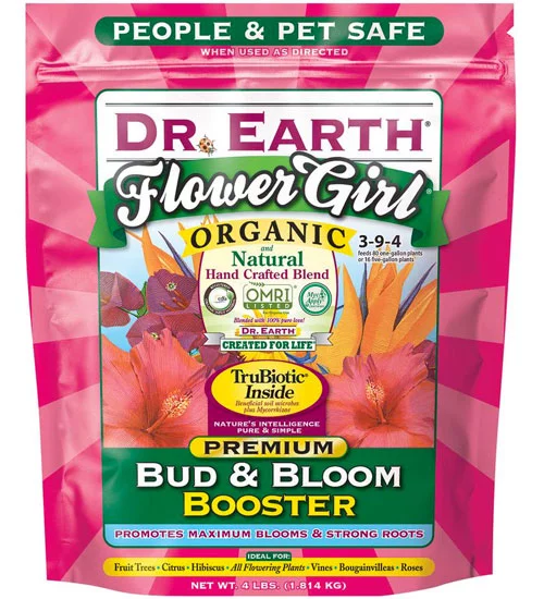 Organic Bloom Booster By Dr Earth 4lb In 2020 Planet Natural Bloom Organic Gardening
