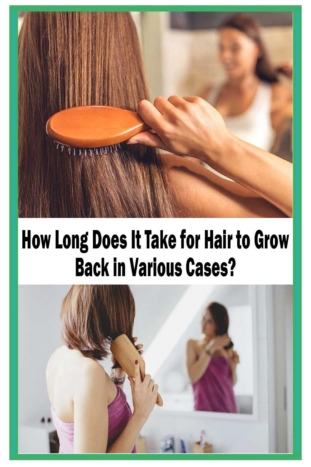 How Long Does It Take For Hair To Grow Lynnai Style Hair Care Tips Hair Loss Remedies Hair Care