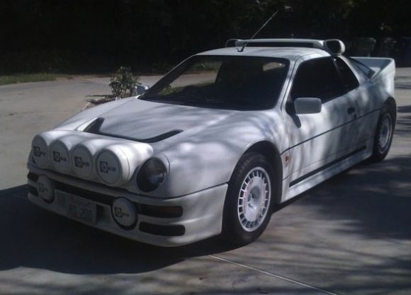 Group B Daily Driver Ford Rs200 Replica In Socal
