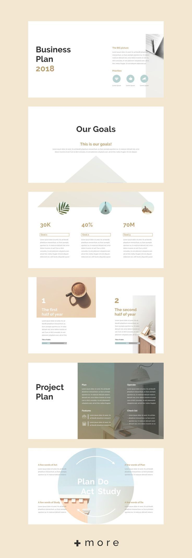 Planner keynote template simple business plan presentation design planner keynote template simple business plan presentation design and keynote accmission Image collections