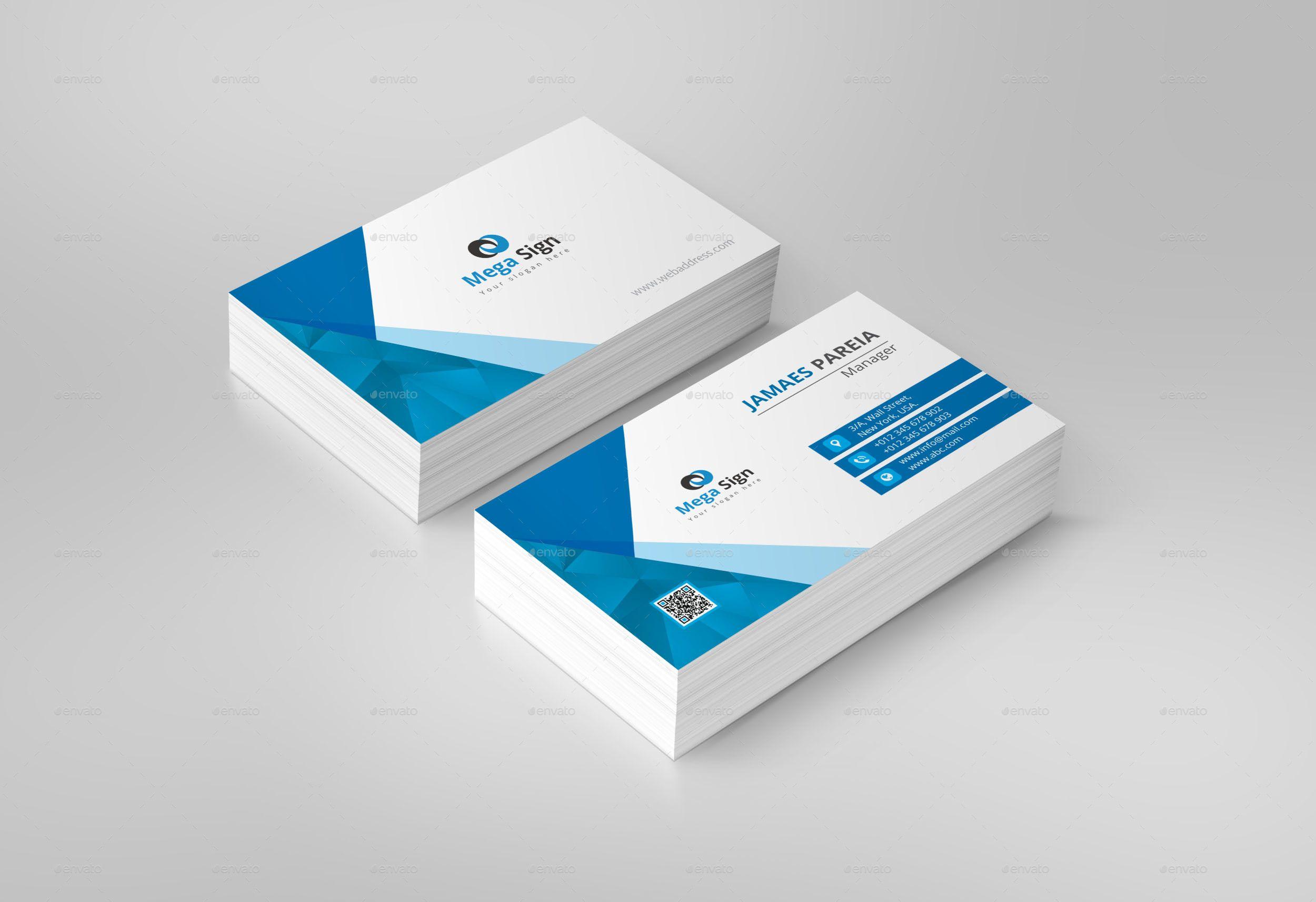 Business Card Sponsored Business Card Business Cards Modern
