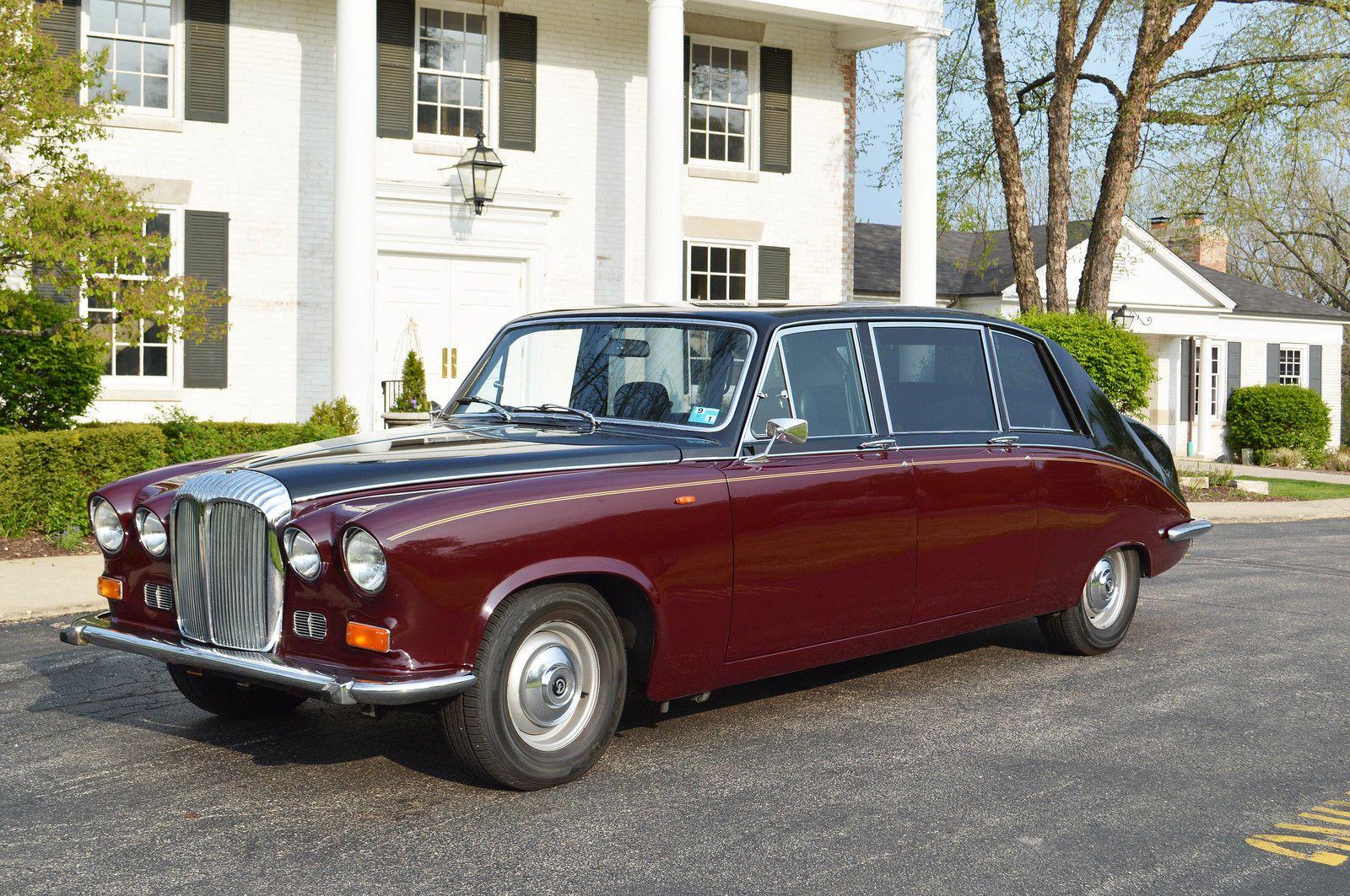 Daimler ds420 executive interior vintage cars variety pinterest cars