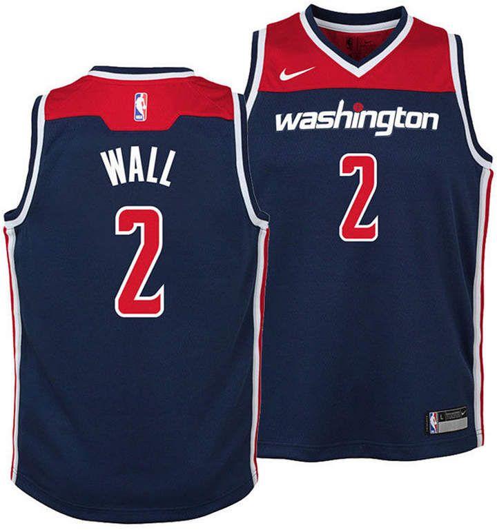 Nike Kids Washington Wizards Statement Swingman Short Navy