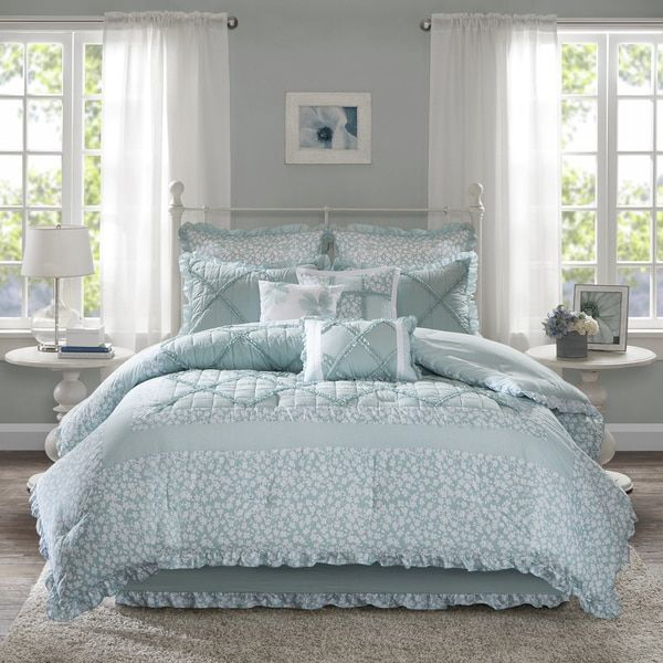 Overstock Com Online Shopping Bedding Furniture Electronics Jewelry Clothing More Comforter Sets Bed Comforter Sets Aqua Bedding