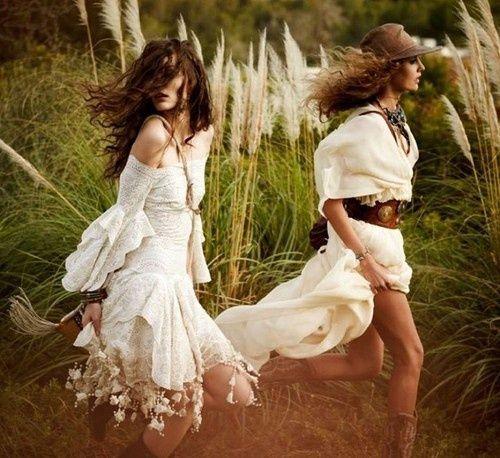Bohemian ladies.
