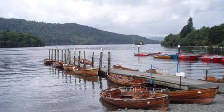 Lake District town of Bowness-on-Windermere.