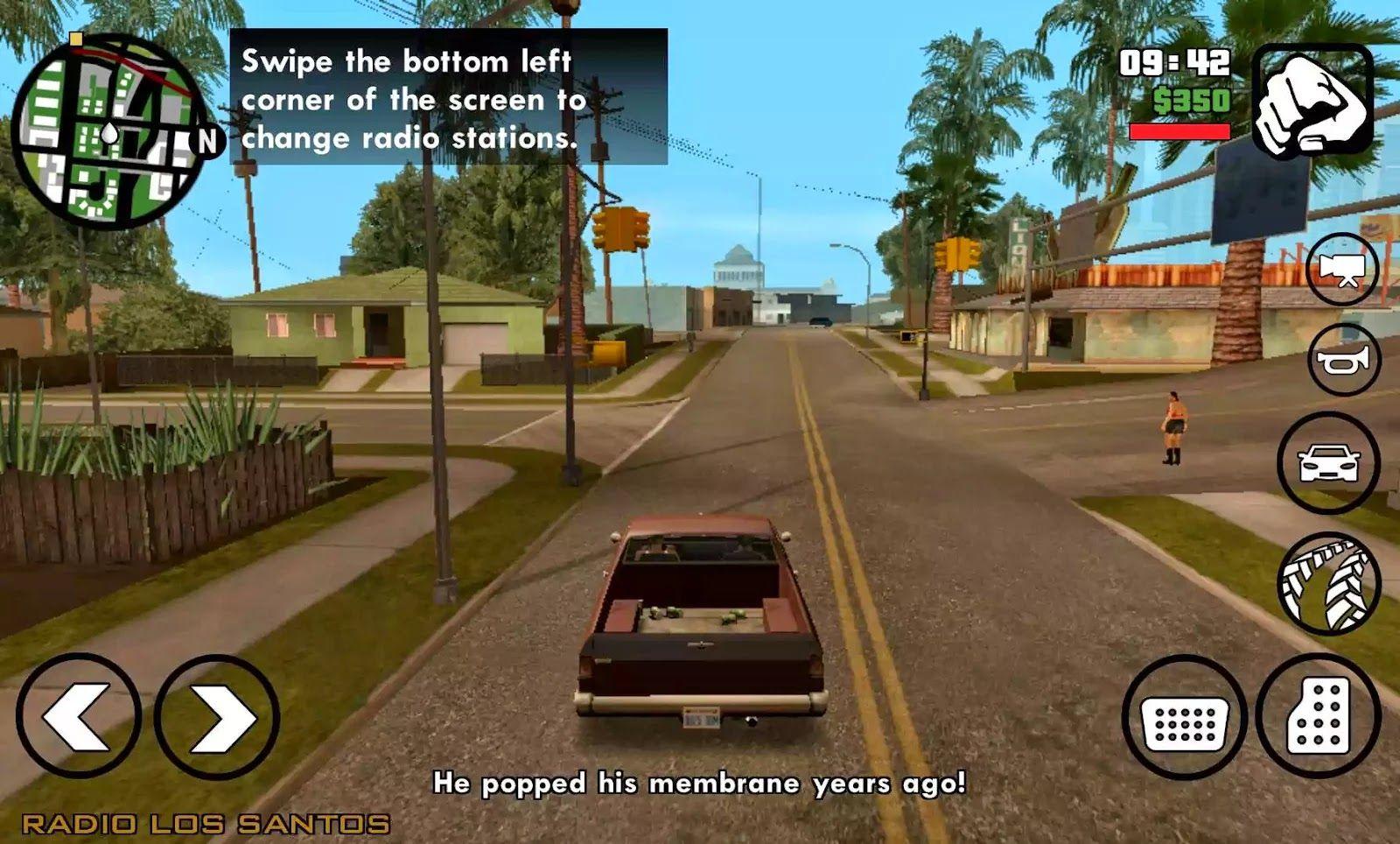 Download Grand Theft Auto: San Andreas 1 08 Apk Mod | mega