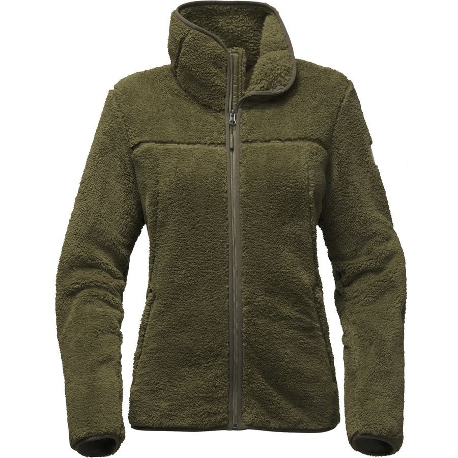 The North Face Campshire Fleece Jacket Women S Burnt Olive Green North Face Women Fleece Jacket Womens Hiking Outfit [ 900 x 900 Pixel ]