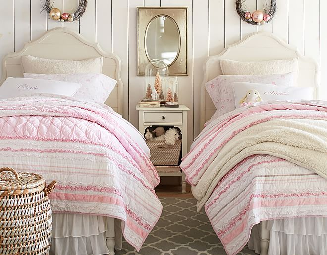 Katy Love The Bridgette Ruffle Quilted Bedding Like That Its