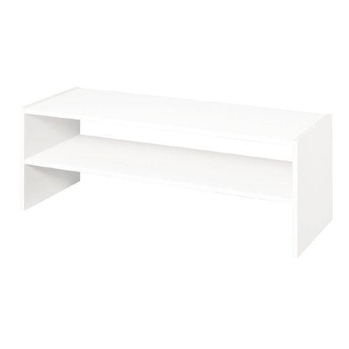Zoomed Closetmaid White Wood Horizontal Organizer Ideias Para Mobilia Mobilia Ideias