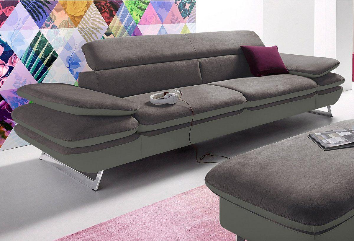 3 Sitzer Mit Armlehnverstellung 3 Sitzer Sofa Sofas 3er Sofa